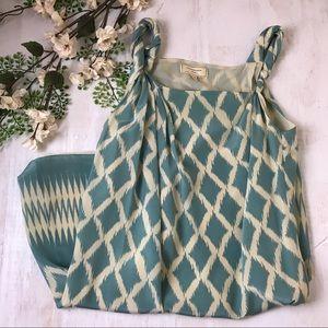 Anthro Moulinette Soeurs silk slip dress size 6